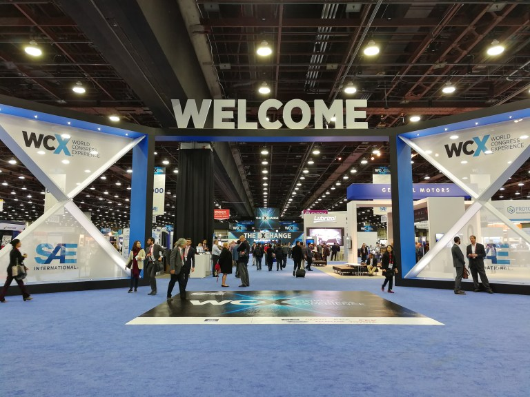 ESS is a known participant at the SAE WCX18: World Congress Experience